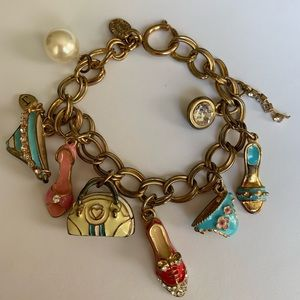Juicy Couture Limited Edition Gold Charm Bracelet